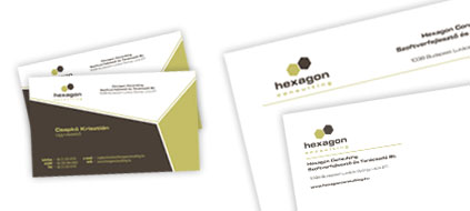 Hexagon Consulting - log�tervez�s, kisarculat